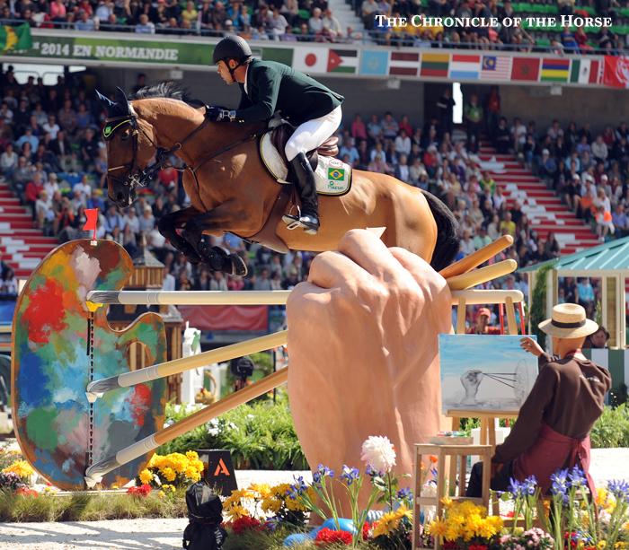 creative horse jump