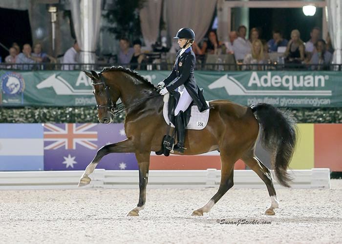 Verdades Dances Close To 80 Percent In AGDF 5* Freestyle