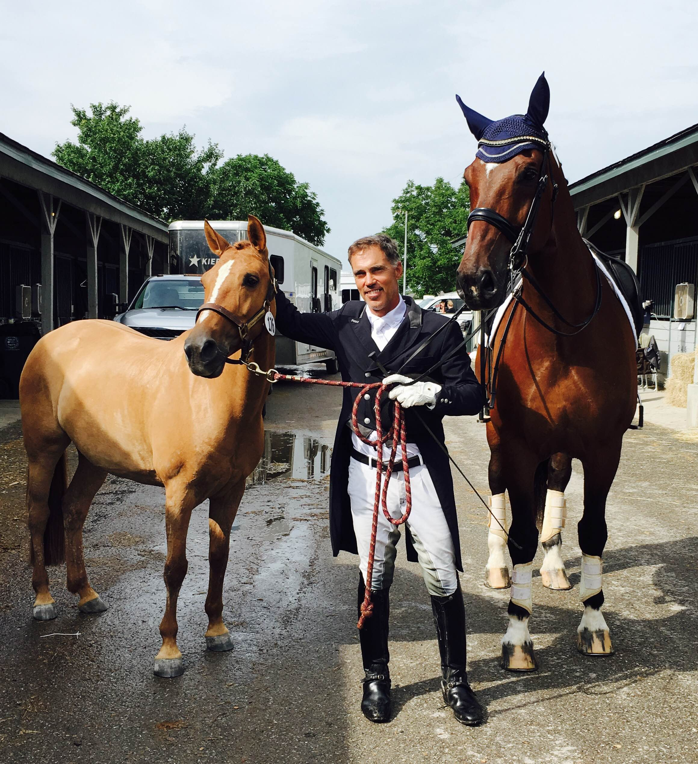 Grand Prix Dressage Rider Jim Koford Channels Some Pony Power
