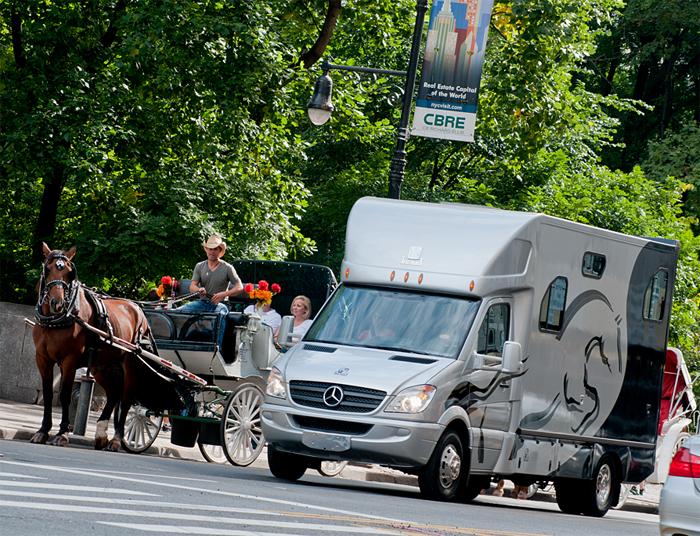 Theault Horse Van