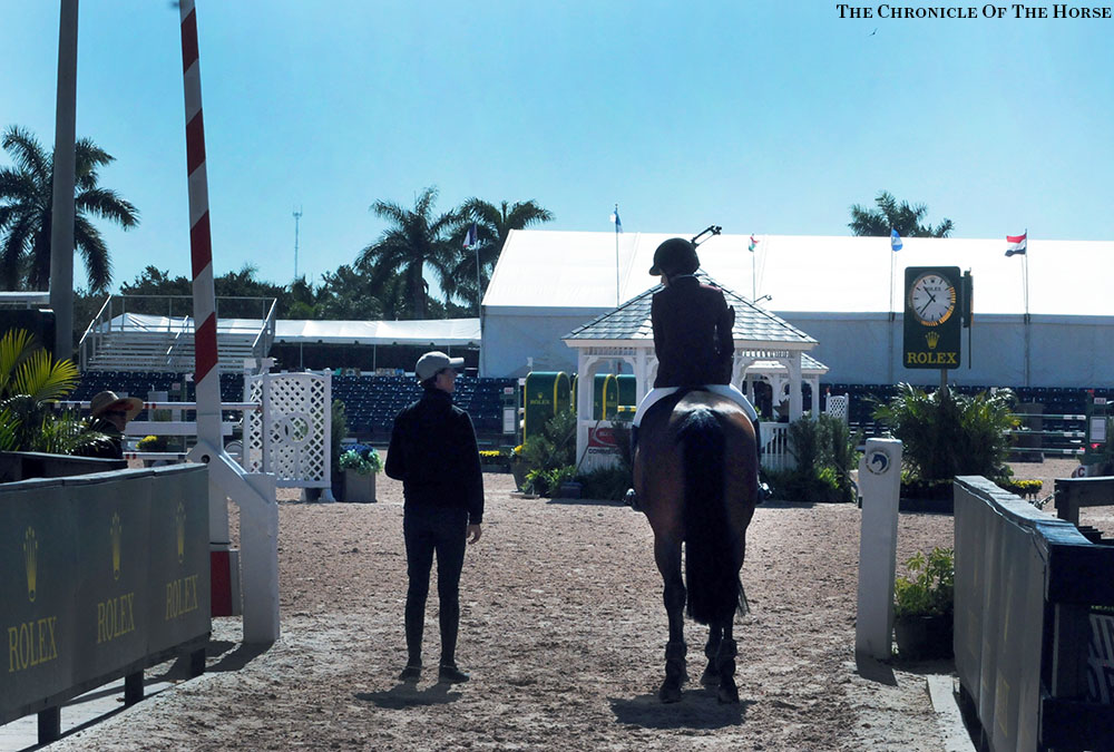 Ben Maher and Jessica Springsteen
