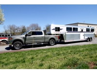Frank DiBella_New Ford F-350 with 2020 4-Star Deluxe 4 Horse Trailer
