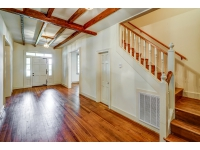 Front to back foyer