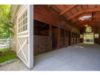 Double Sliding Doors to Magnificent Barn